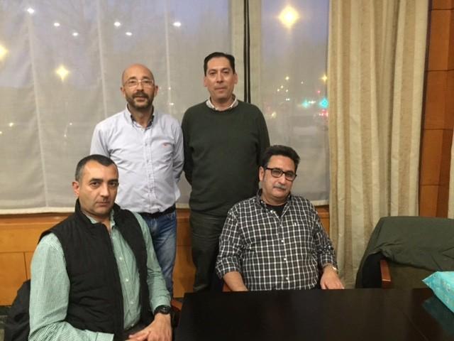 Reunión con la Jefatura Provincial de Cuenca