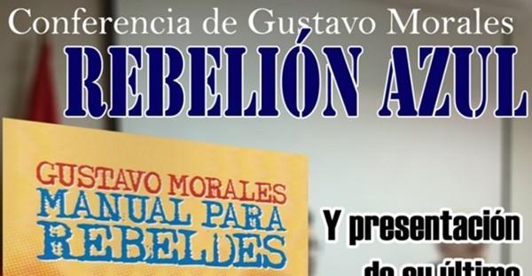 """Conferencia y presentación del nuevo libro de Gustavo Morales """"Manual para rebeldes"""" en la sede nacional de La Falange, 16 de enero a las 20:00 h."""