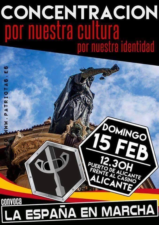 15 de febrero: Súmate a la Concentración de LEM en Alicante