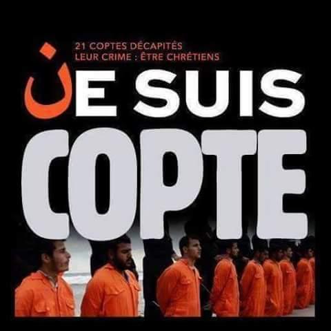 Europa debería identificarse con los cristianos coptos y no con Charlie Hebdo