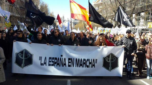 LEM marcha por la vida en Madrid