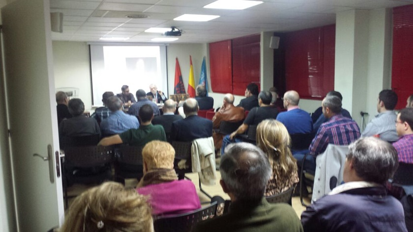 Crónica de la conferencia de José Antonio Crespo-Francés sobre Blas de Lezo
