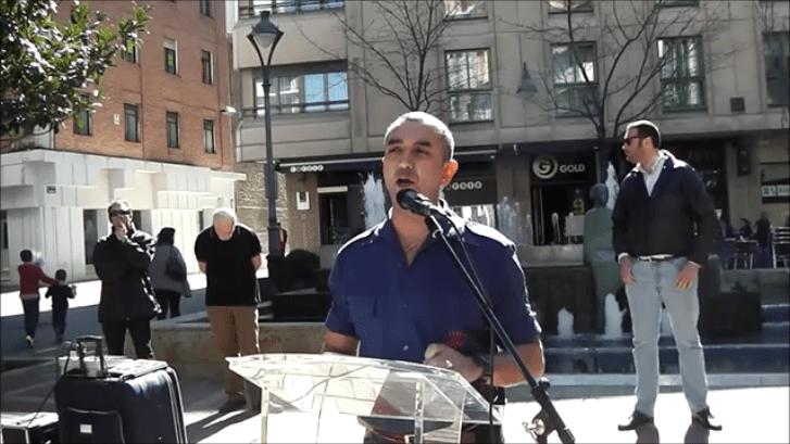 Discurso de Manuel Andrino, Jefe Nacional de La Falange, en Valladolid