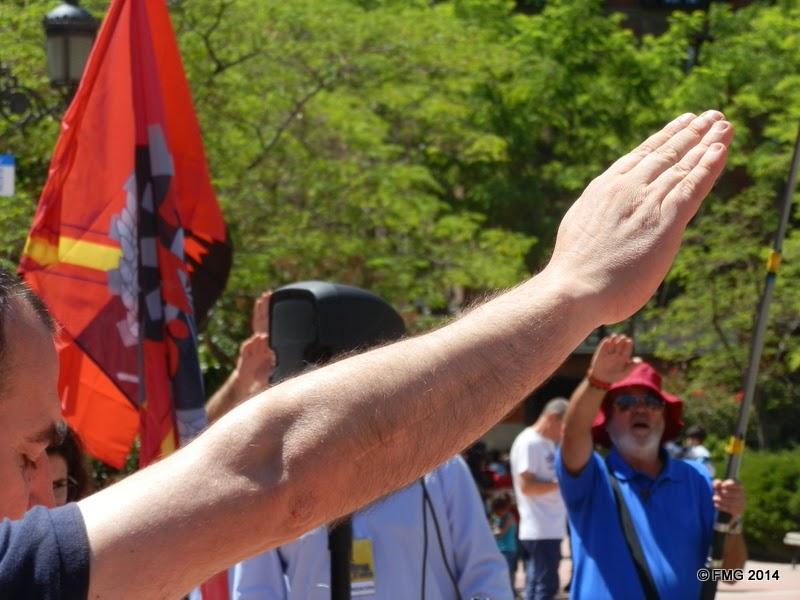 1 de mayo nacional sindicalista en Madrid