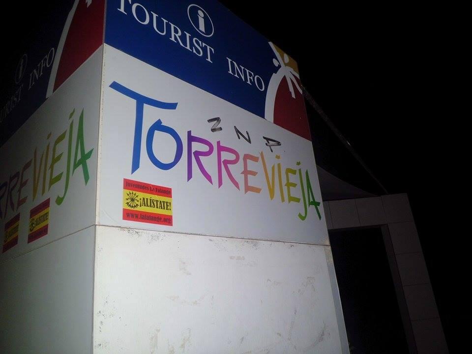 Activismo de precampaña electoral en Torrevieja