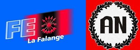 Apoyo de La Falange (FE) y Alianza Nacional (AN) a Casa Pound Italia Cremona
