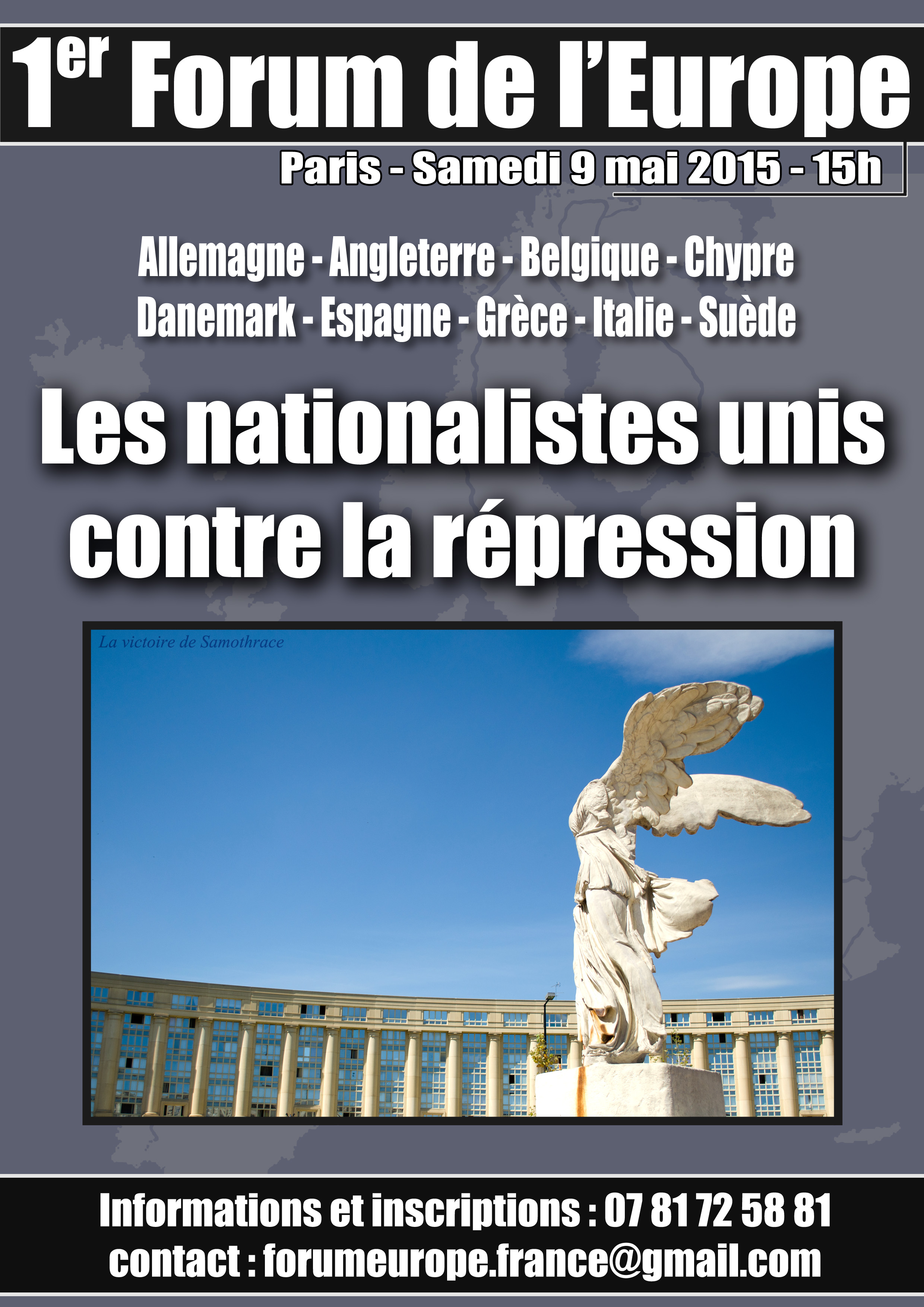 Discurso del Jefe Nacional de La Falange en el 1er Foro de Europa