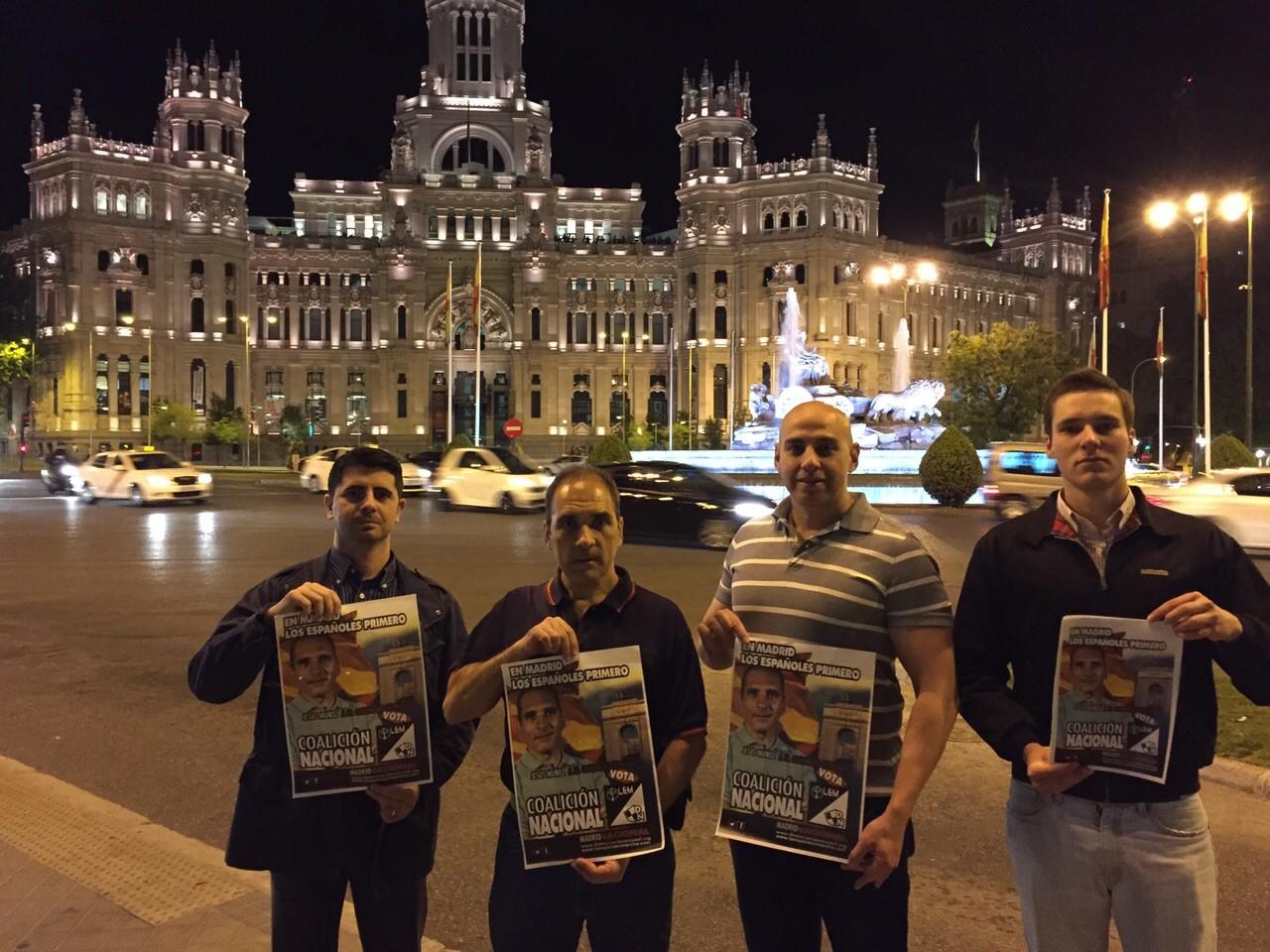 Inicio de la campaña electoral en Madrid