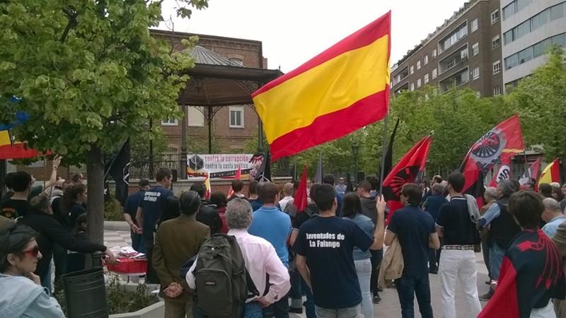 Palabras de Jesús Muñoz, portavoz de La España en Marcha y candidato a la Comunidad de Madrid por La Coalición Nacional, en el acto del 1 de Mayo