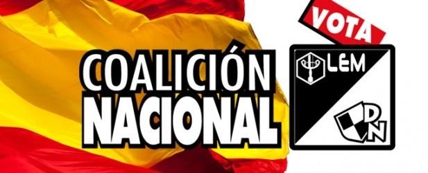 Acto de cierre de campaña de La Coalición Nacional en Madrid