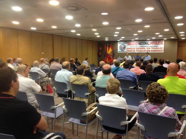 Crónica del II Congreso Nacional del Sindicato TNS