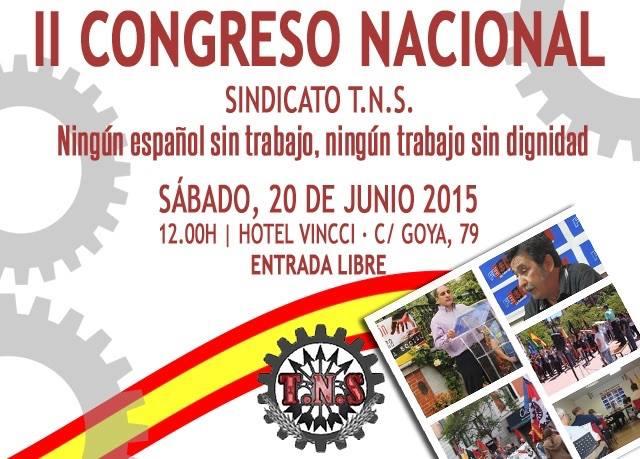 II CONGRESO NACIONAL DEL SINDICATO TNS