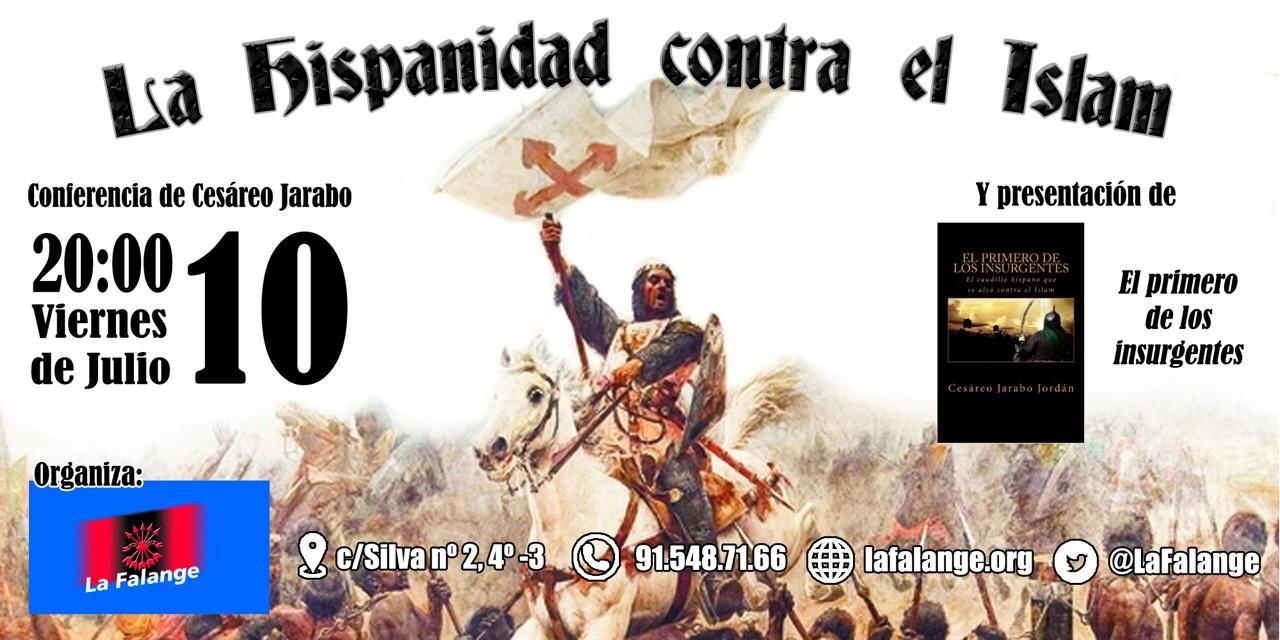 Conferencia Viernes día 10 a las 20:00 horas en la sede Nacional de La Falange