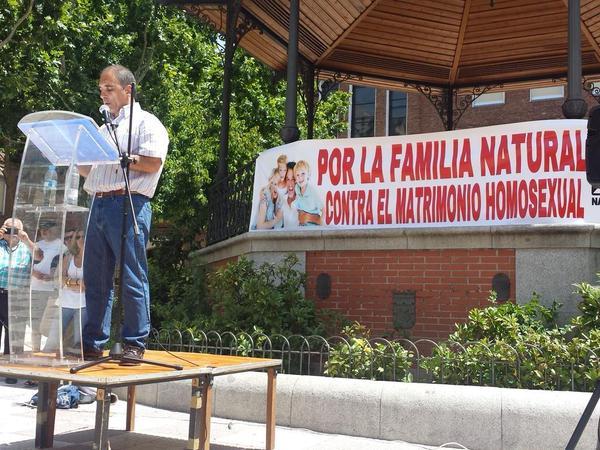 Discurso de Jesús Muñoz en el acto por la defensa de la familia natural y contra el matrimonio homosexual