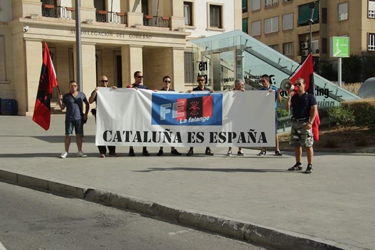11 de septiembre en Alicante. ¡Cataluña es España!