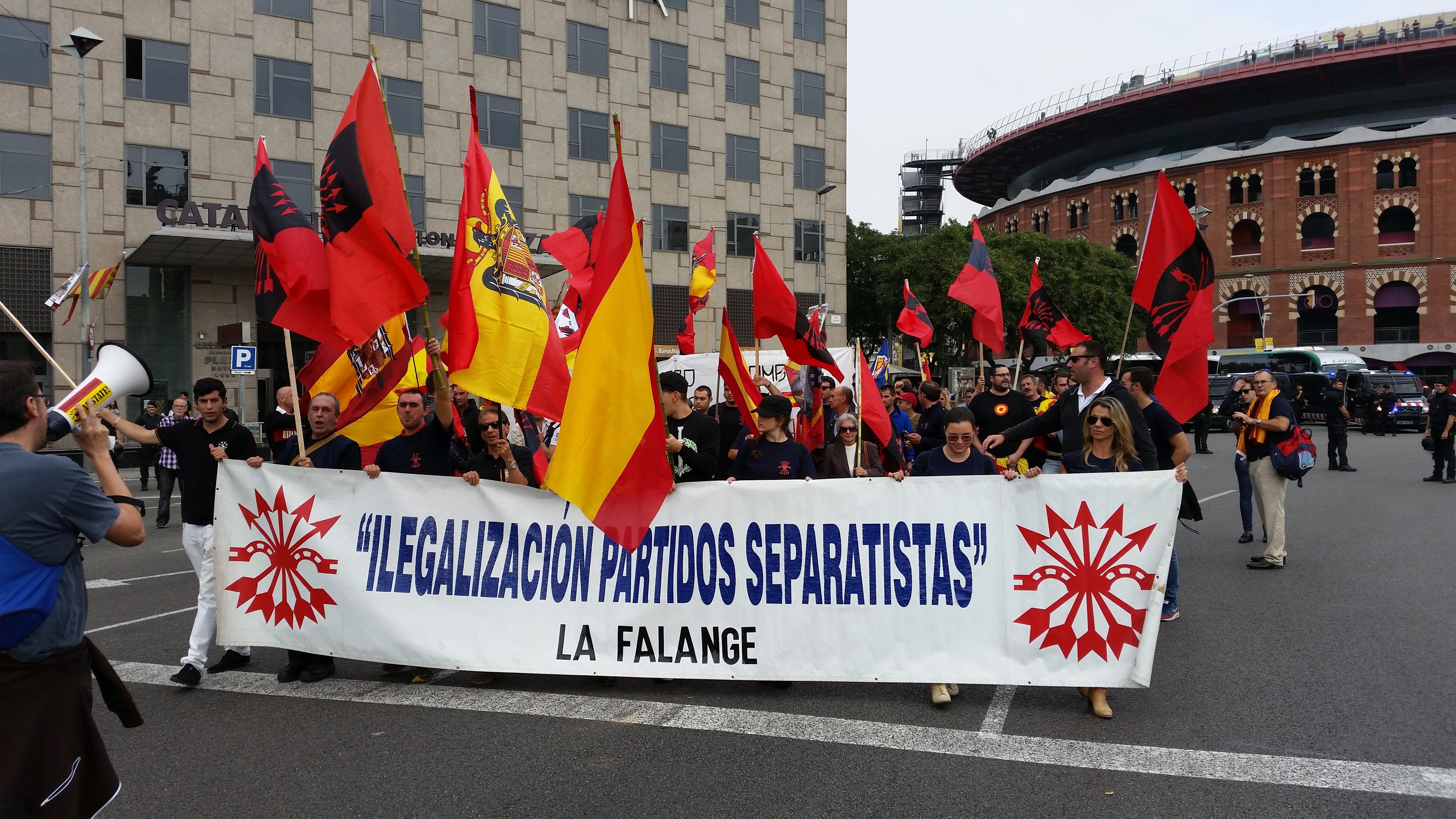 12 de Octubre en Barcelona. Ante el separatismo, España se defiende (vídeo)