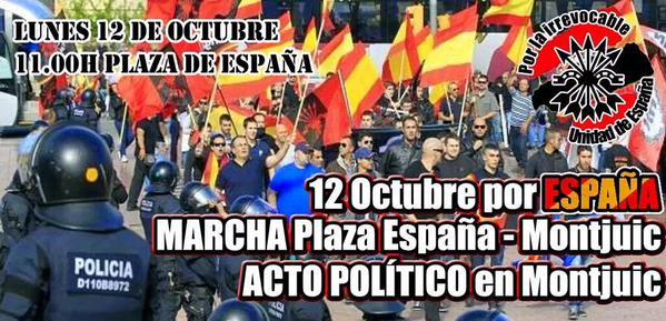 Vídeo por la irrevocable Unidad de España. ACUDE el 12 de Octubre a Montjuic (Barcelona)