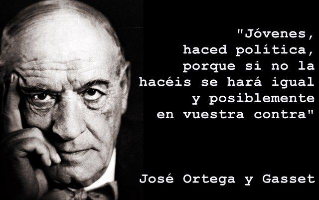 En el 60 aniversario del fallecimiento de Ortega y Gasset