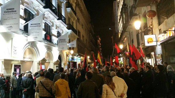 Vídeo del Acto de afirmación falangista en el 82 Aniversario de la fundación de Falange Española