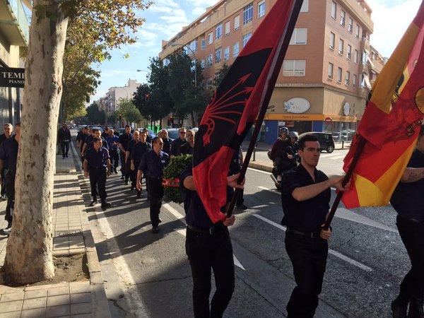 Homenaje y Marcha de la Corona por José Antonio Primo de Rivera el 14 de noviembre en Alicante