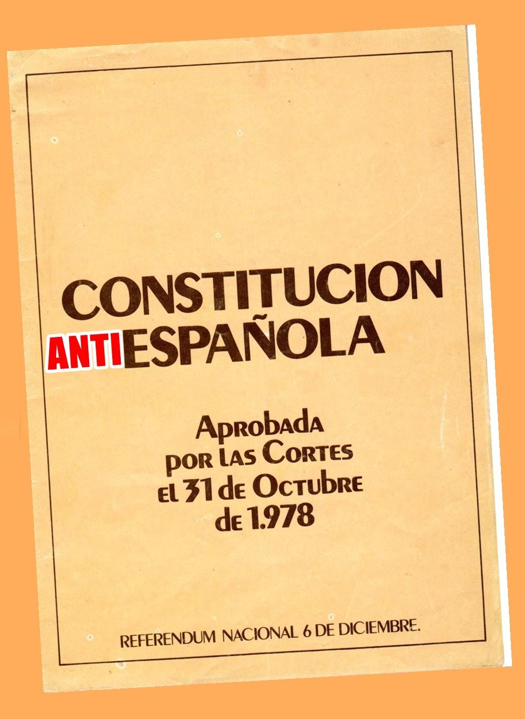 La Falange contra una Constitución que rompe España