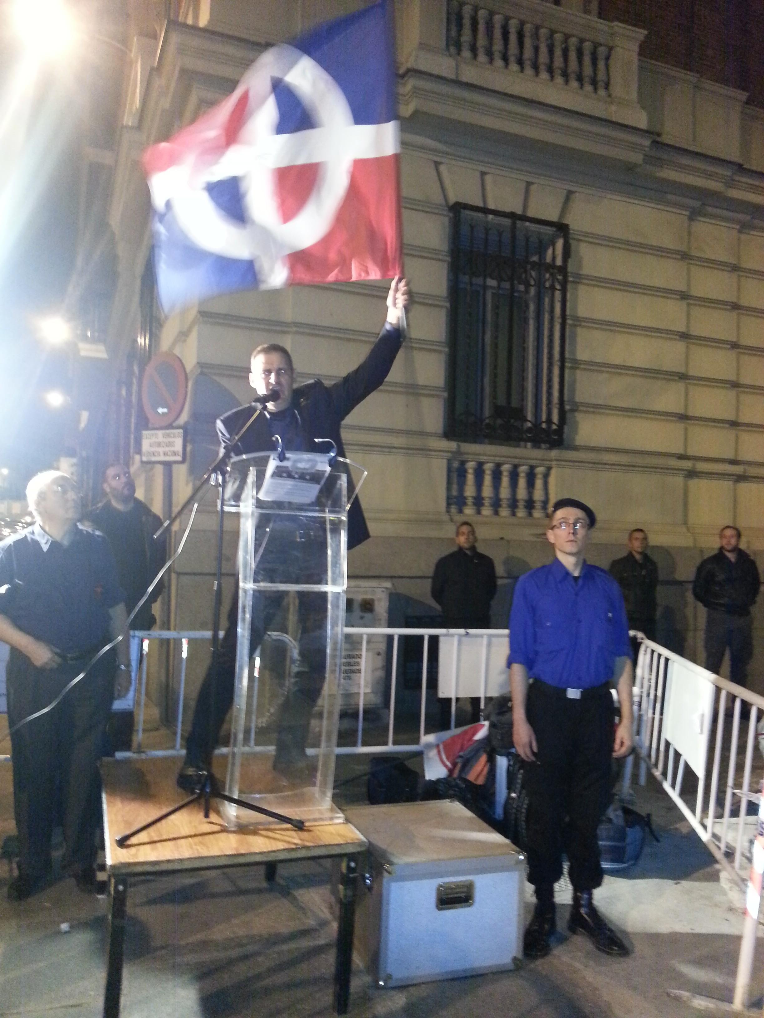 Extracto del discurso del 20N del camarada Yvan Benedetti, Presidente del Partido Nacionalista Francés
