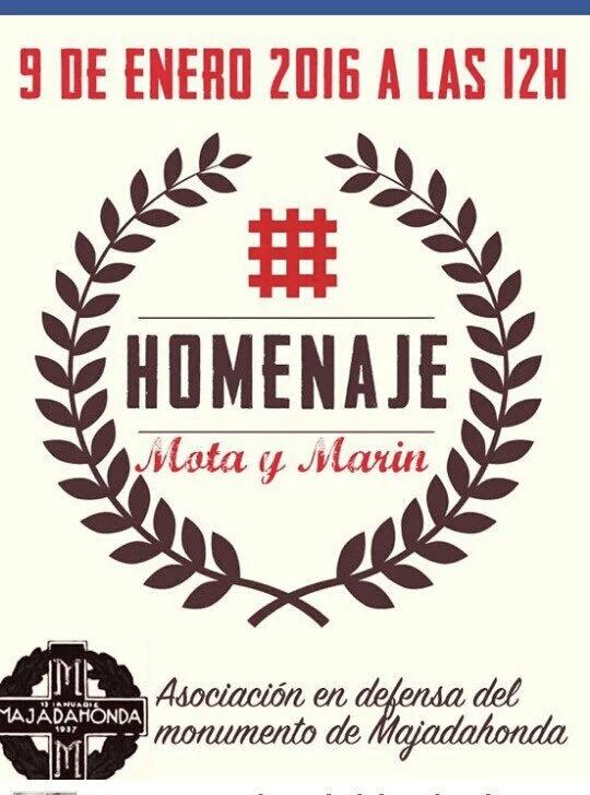 Acto Homenaje en memoria de Ion Mota y Vasile Marín y posterior conferencia en Majadahonda