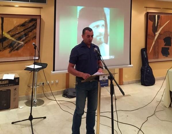Discurso de Manuel Andrino, Jefe Nacional de La Falange, en el acto en memoria de Ion Mota y Vasile Marín