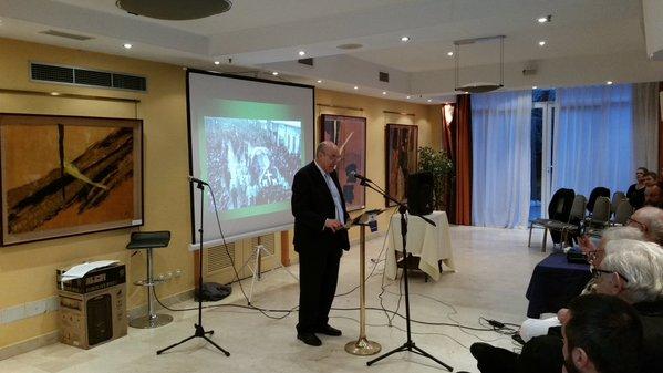 Palabras de José Luis Jerez Riesco en el homenaje a Ion Mota y Vasile Marín