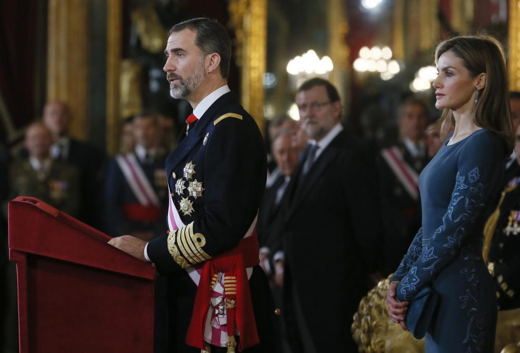 La amnesia de Felipe VI en la Pascua Militar