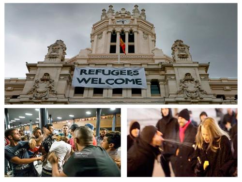 La crisis de los falsos refugiados en Europa. #refugiadosnobienvenidos