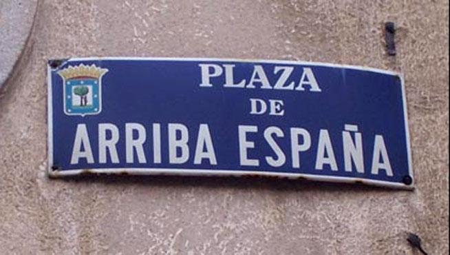 Las calles falangistas de Madrid, entre otras, NO se tocan (vídeo)