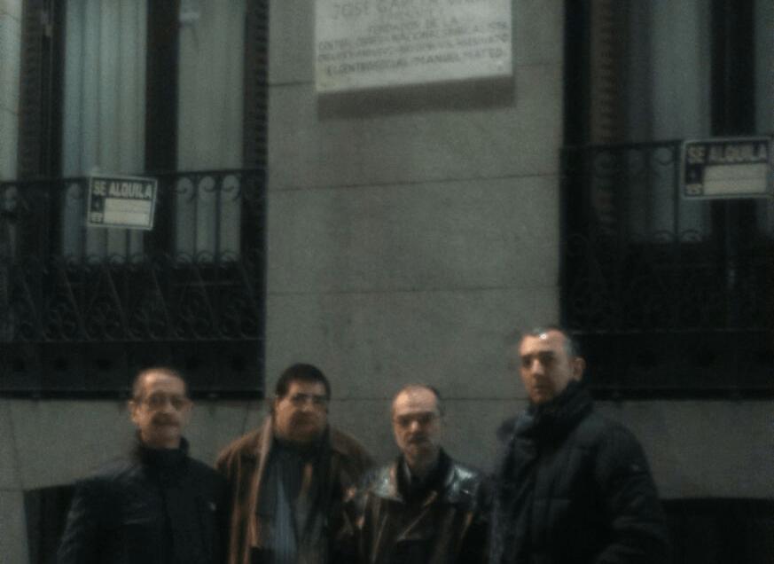 Repuesta la placa de José García Vara
