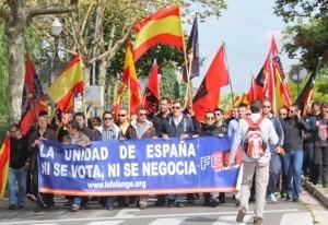 La Falange al servicio de España ¡Honor a los que luchan! (Vídeo)