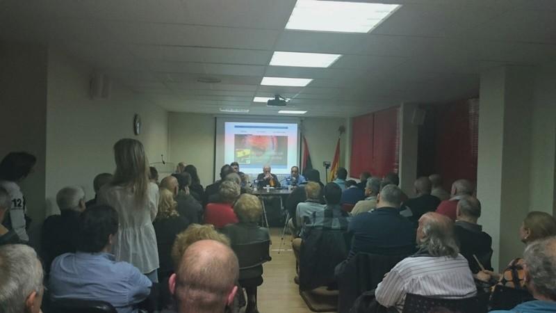 Crónica y vídeo de la conferencia sobre los voluntarios españoles contra Daesh