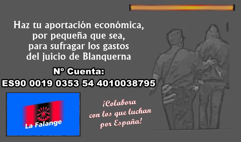 """Ayuda a los camaradas condenados en el """"Caso Blanquerna"""""""