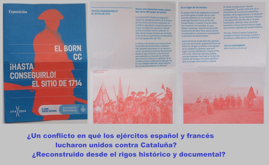 Otra burda manipulación histórica en Cataluña
