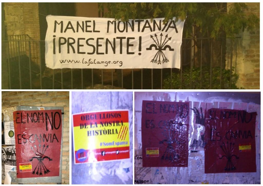 Ante la persecución histórica: Manel Montanyà ¡Presente!