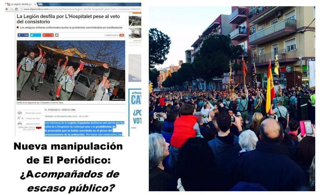 """Nueva manipulación de """"El Periódico de Cataluña"""""""