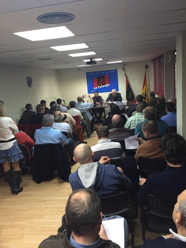 """Celebrada la conferencia de Juan Domingo Martínez """"Historia de la condena a un falangista"""""""