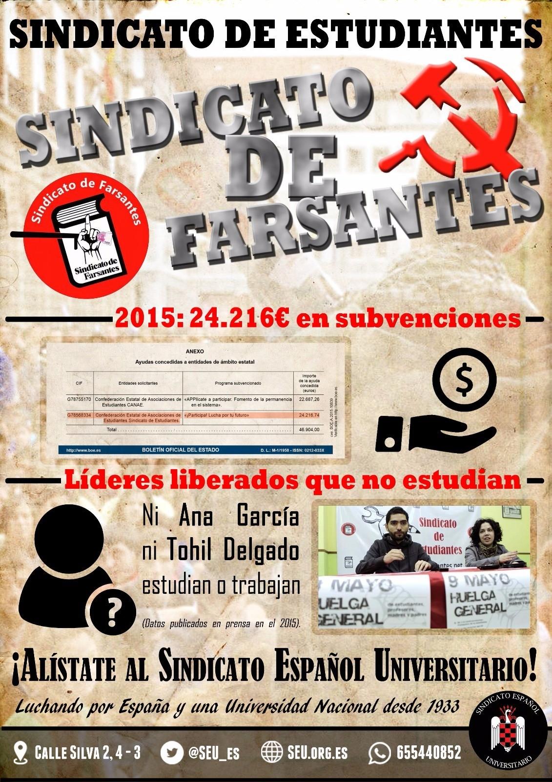 """La verdad del mal llamado """"Sindicato de Estudiantes""""."""