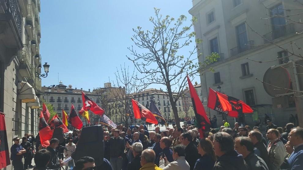 Celebrado en Madrid el Homenaje y Desagravio al camarada José García Vara