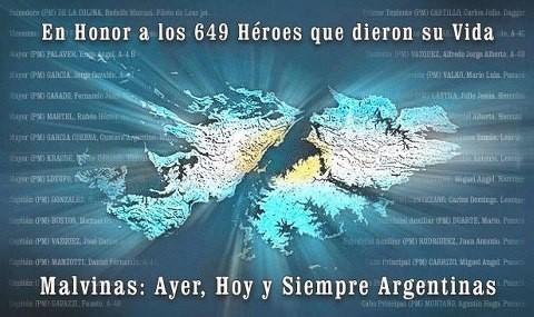 La soberanía Argentina sobre las Malvinas en función de su herencia española. 34º aniversario del intento de su liberación