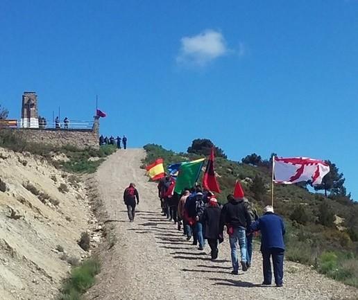 Homenaje a nuestros Caídos en la Sierra de Alcubierre