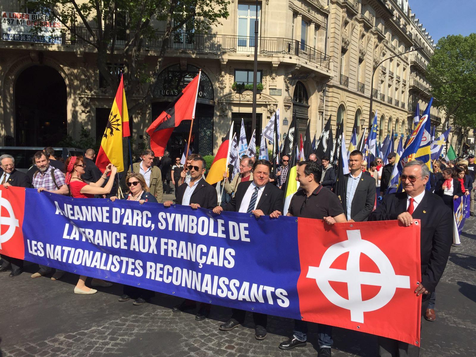 Celebrado el Fórum de Europa en París y homenaje a Juana de Arco