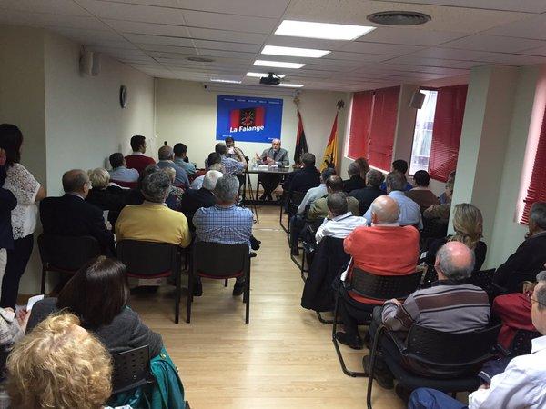 """Vídeo de la conferencia del General Blas Piñar """"Ejércitos anulados"""""""