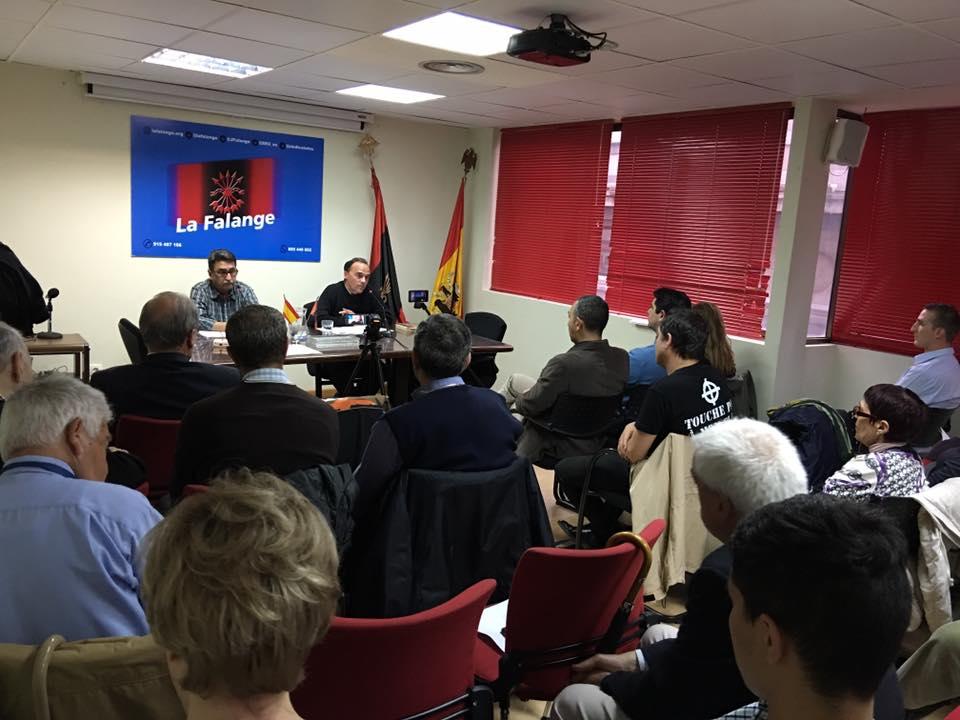 """Vídeo de la conferencia """"La Historia de la CONS"""" (Central Obrera Nacional-Sindicalista)"""