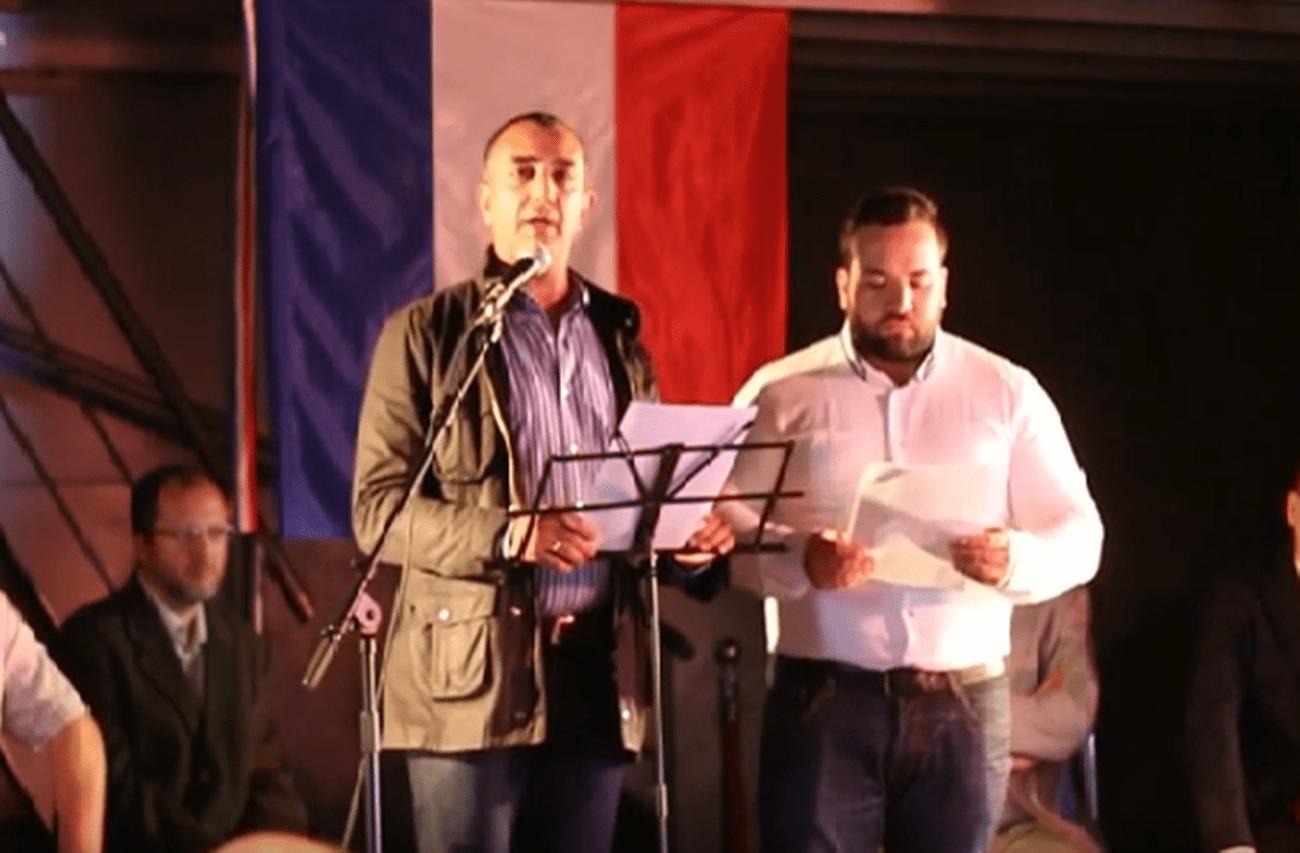 Vídeo de la intervención de Manuel Andrino, Jefe Nacional de La Falange, en el Fórum de Europa celebrado en París