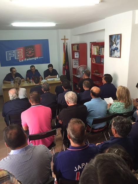 Inauguración de la Sede Territorial de La Falange en Murcia