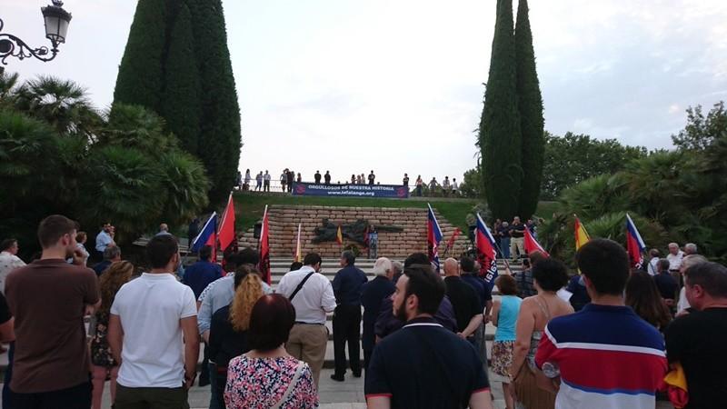 Vídeo del Acto de Homenaje a los Caídos en el Cuartel de la Montaña